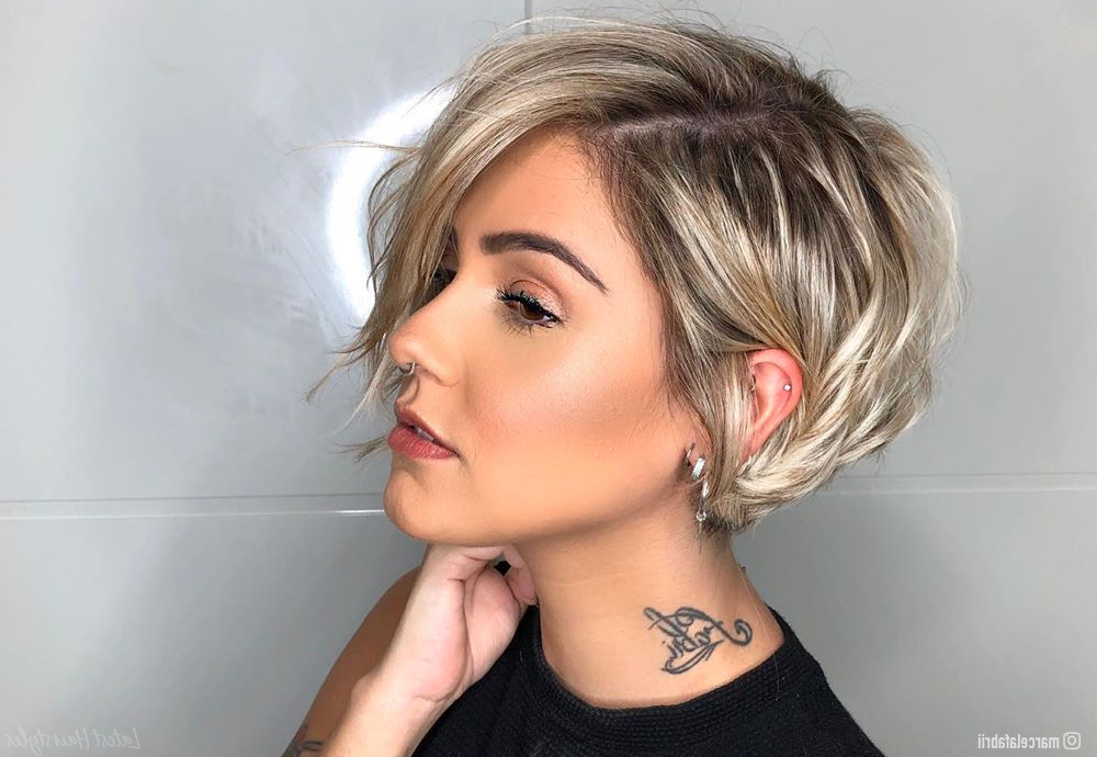 Featured Photo of Part Pixie Part Bob Hairstyles