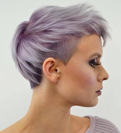 The 20 Coolest Undercut Pixie Cuts Found For 2020 In Most Recently Disconnected Pixie Haircuts With An Undercut (View 6 of 25)