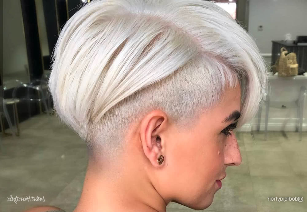 The 20 Coolest Undercut Pixie Cuts Found For 2020 Intended For Most Popular Disconnected Pixie Haircuts For Fine Hair (View 11 of 25)