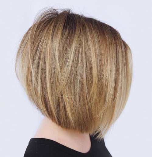The 40 Best Short Hairstyles For Fine Hair ? Palau Oceans For Sassy Angled Blonde Bob Hairstyles (View 14 of 25)
