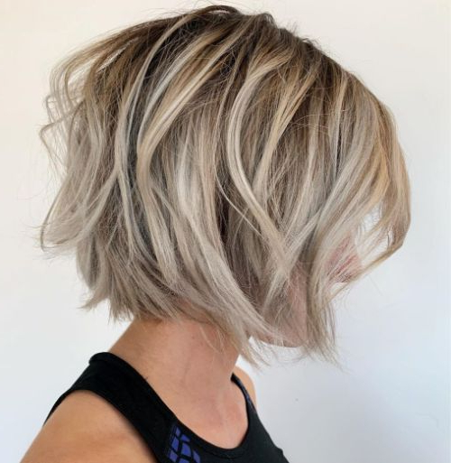 The 40 Best Short Hairstyles For Fine Hair ? Palau Oceans Pertaining To Sassy Wavy Bob Hairstyles (View 8 of 25)