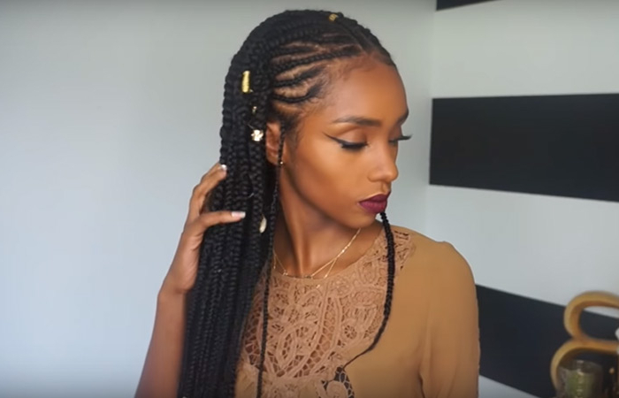 The 411 On Fulani Braids Regarding Most Current Beaded Braids Hairstyles (View 24 of 25)