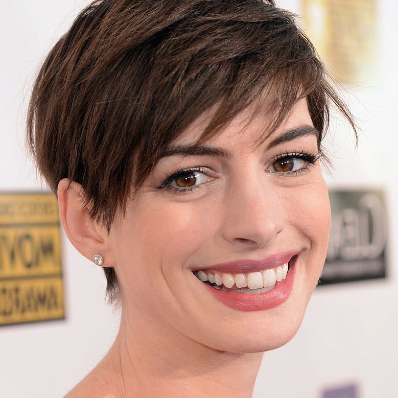 The Best Short Haircuts For Brunettes In Most Current Morena Pixie Haircuts With Bangs (View 12 of 25)