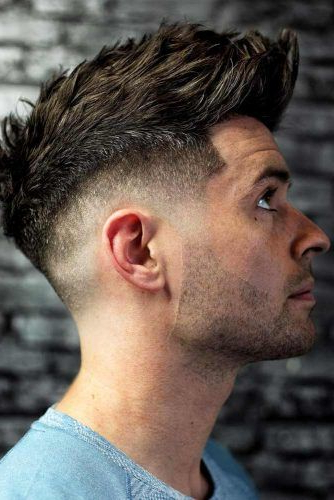 The Fade Haircut Trend: Captivating Ideas For Men And Women With Regard To Latest Faux Hawk Fade Haircuts With Purple Highlights (View 24 of 25)