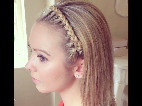 The Headband Braidsweethearts Hair Design – Youtube Regarding Recent Full Headband Braid Hairstyles (View 13 of 25)
