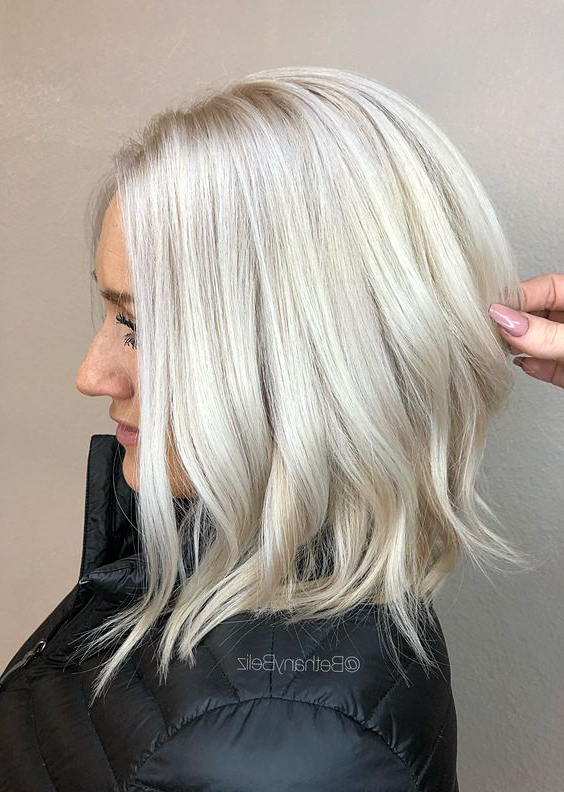 The New Platinum Blonde Is Here–And It's The Only Hair With Most Recently Long Undercut Hairstyles With Shadow Root (View 13 of 25)