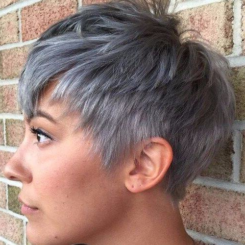 The Pixie Haircut: 60+ Ideas That Fit Every Style – My New With Regard To Most Recently Metallic Short And Choppy Pixie Haircuts (View 10 of 25)
