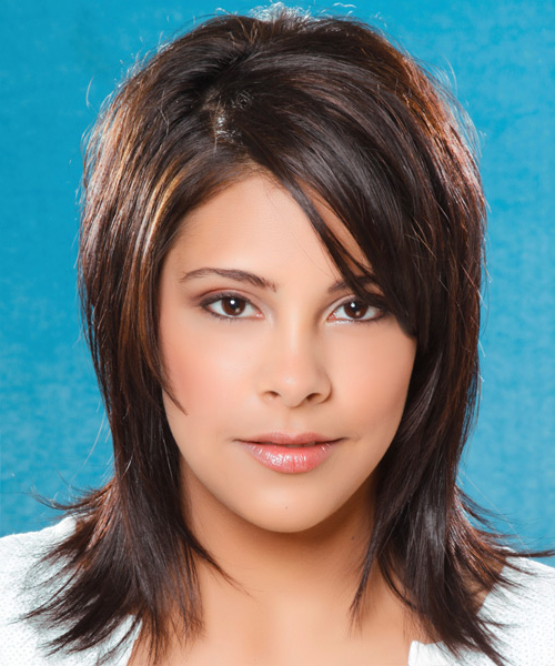 The Right Hairstyles For Your Round Face Shape Regarding Jagged Bob Hairstyles For Round Faces (View 19 of 25)