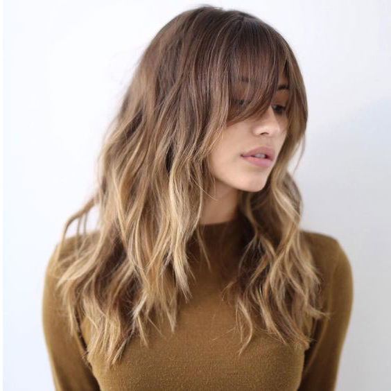 There's A New Shag Cut Taking Over—And Here Are Amazing Ways Regarding Best And Newest Razor Haircuts With Long Bangs (View 10 of 25)