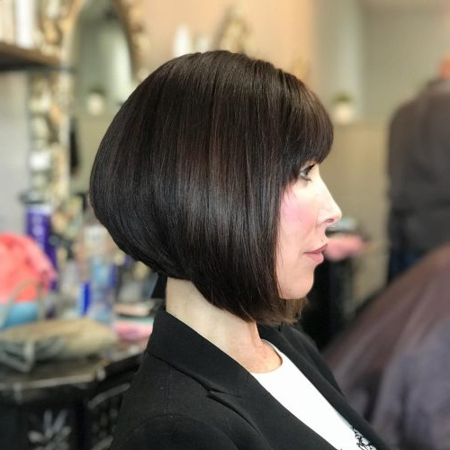Top 17 Wedge Haircut Ideas For Short & Thin Hair In 2020 Regarding Wedge Bob Hairstyles (View 9 of 25)