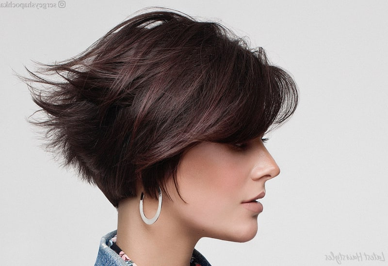 Top 17 Wedge Haircut Ideas For Short & Thin Hair In 2020 Regarding Wedge Bob Hairstyles (View 7 of 25)