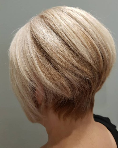 Top 17 Wedge Haircut Ideas For Short & Thin Hair In 2020 With Wedge Bob Hairstyles (View 19 of 25)