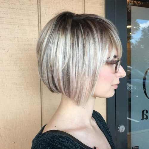 Top 36 Short Blonde Hair Ideas For A Chic Look In 2020 With Regard To Blonde Undercut Bob Hairstyles (View 16 of 25)