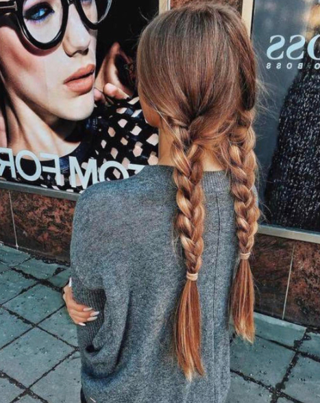 Two Simple Three Strand Braids But They're So Pretty | Hair Intended For Newest Three Strand Pigtails Braid Hairstyles (View 9 of 25)
