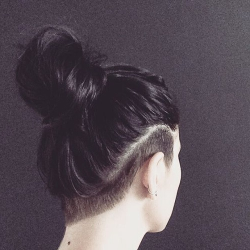 Undercut For Women: 60 Chic And Edgy Ideas To Try Out In Most Popular Shaved Undercuts (View 4 of 25)