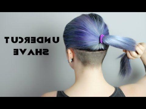 Undercut Shave!! Intended For Most Current Shaved Undercuts (View 8 of 25)