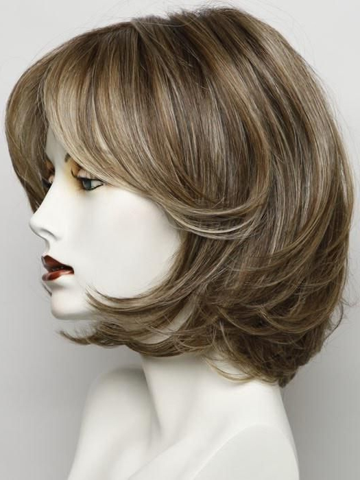 Upstage Large   Synthetic Lace Front Wig (Hand Tied)   Short With Regard To Short Cappuccino Bob Hairstyles (View 18 of 25)
