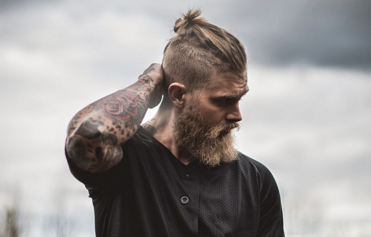 Viking Hairstyles For Men – Inspiring Ideas From The Warrior Regarding Most Popular Modern Braided Top Knot Hairstyles (View 21 of 25)