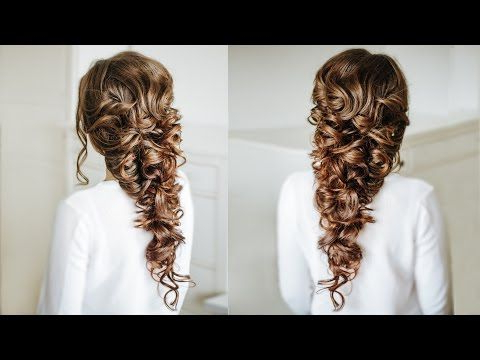 Voluminous Greek Style Braid / Easy Hairstyle For Long Dark Intended For Most Current Grecian Inspired Ponytail Braid Hairstyles (View 7 of 25)