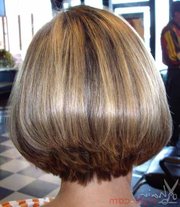 What Is Old Is New Again! Bob Hairstyle Back View | Smooth Inside Smooth Bob Hairstyles (View 2 of 26)