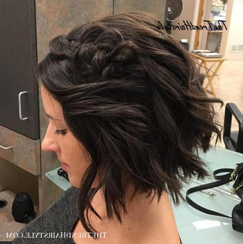Wild Waves – 40 Gorgeous Braided Hairstyles For Short Hair Inside Newest Braided Short Hairstyles (View 2 of 25)