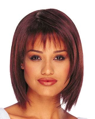 Featured Photo of Wispy Bob Hairstyles With Long Bangs