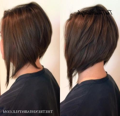 Wispy Stacked Layers – 30 Beautiful And Classy Graduated Bob Intended For Graduated Angled Bob Hairstyles (View 4 of 25)