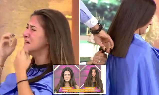 """Woman Faints On Turkish Tv Show As Hairdresser Cuts 12"""" From Throughout Current Crisp Pulled Back Braid Hairstyles (View 24 of 25)"""