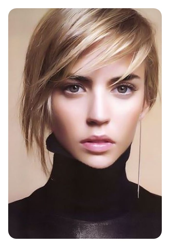 101 Asymmetrical Bob Hair Ideas For The Year 2020 – Style Easily With Regard To Most Popular Asymmetrical Feathered Bangs Hairstyles With Short Hair (View 17 of 25)