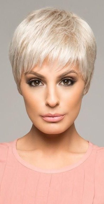 30 Refreshing Variations Of Short Pixie Haircut Wigs – Short With Regard To Newest Oblique Feathered Bangs And A Pixie Cut Hairstyles (View 6 of 25)
