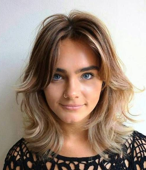 30 Trendiest Shaggy Bob Haircuts Of The Season   Bangs With Regarding Best And Newest Long Curtain Feathered Bangs Hairstyles (View 2 of 25)