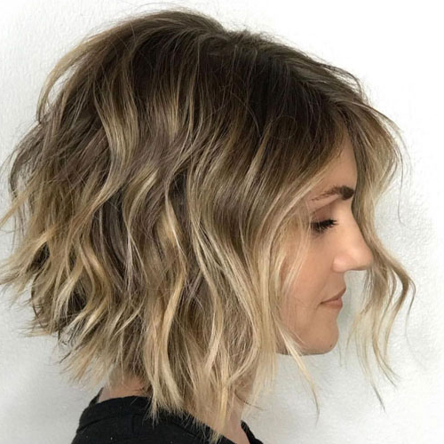 50 Edgy Asymmetrical Haircuts For Women To Get In 2020 Regarding Most Current Asymmetrical Feathered Bangs Hairstyles With Short Hair (View 11 of 25)