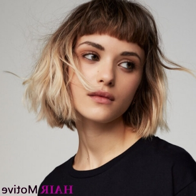 50 Short Layered Haircuts That Are Classy And Sassy! | Hair For Current Asymmetrical Feathered Bangs Hairstyles With Short Hair (View 24 of 25)