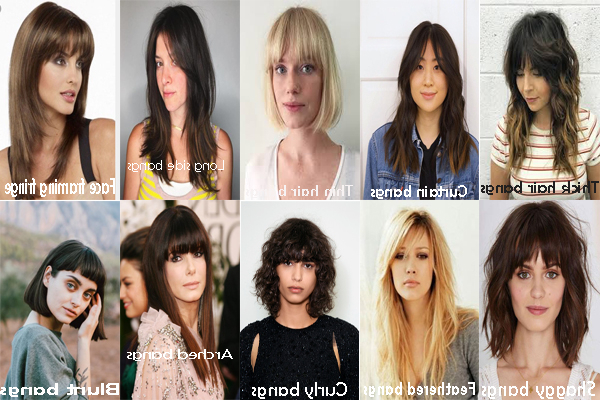 Best Bangs For Wavy Hair   Bangs For Difference Face Shapes Within Most Recent Long Curtain Feathered Bangs Hairstyles (View 21 of 25)