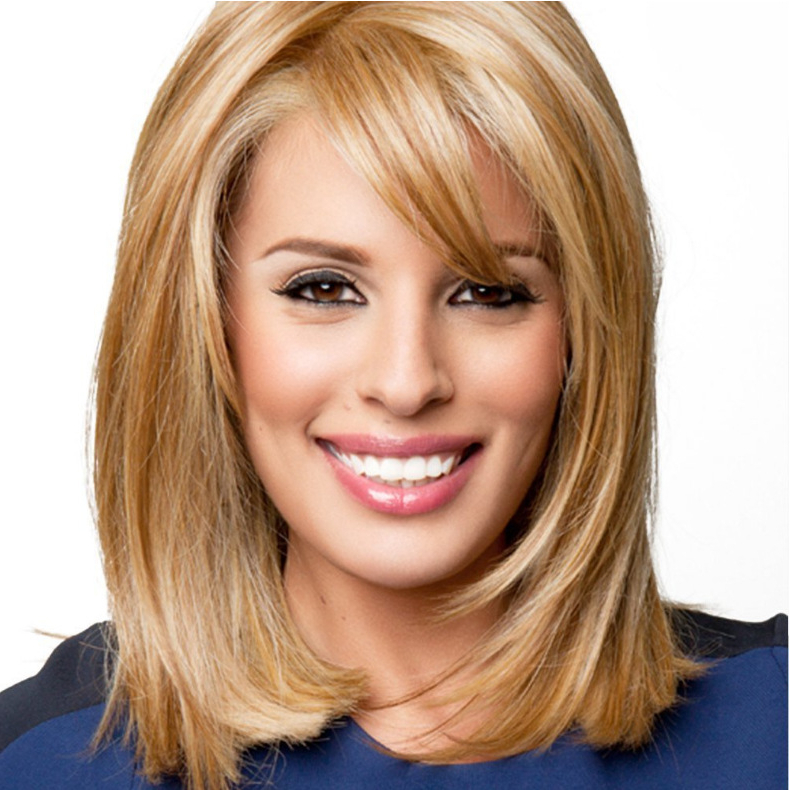 Blond Straight Wig Long Oblique Bangs Long Straight Hair Within Current Oblique Feathered Bangs And A Pixie Cut Hairstyles (View 20 of 25)