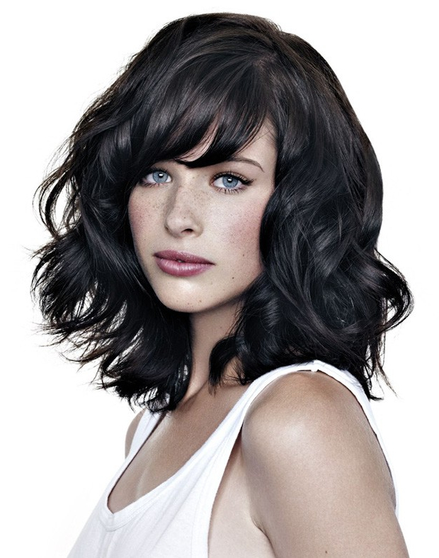 Bob Short Haircut And With Oblique Pony For Your Face Shape For Recent Oblique Feathered Bangs And A Pixie Cut Hairstyles (View 7 of 25)