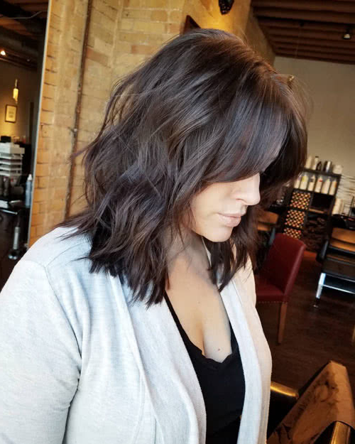 Long Hair With Bangs: 37 Best Examples Of 2020 Regarding Most Recently Long Curtain Feathered Bangs Hairstyles (View 5 of 25)