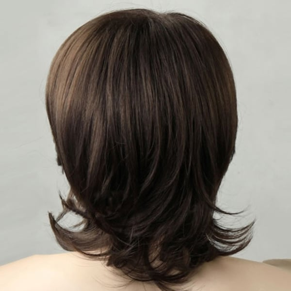 Men'S Short Hair Oblique Bangs Mid Length Fashion Wig In Most Recently Oblique Feathered Bangs And A Pixie Cut Hairstyles (View 22 of 25)