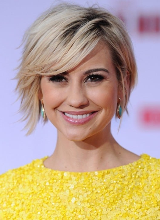 Short Hair Long Bangs – Top 10 Styling Ideas For 2020 Within Current Asymmetrical Feathered Bangs Hairstyles With Short Hair (View 20 of 25)
