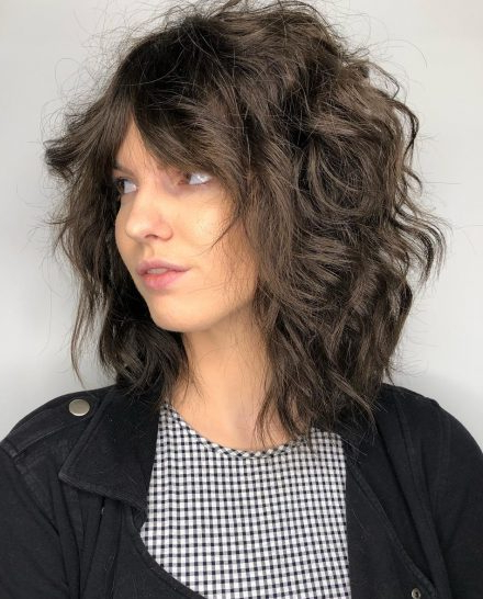 Top 25 Short Shag Haircuts Right Now – Short Bob Cuts Regarding Most Current Oblique Feathered Bangs And A Pixie Cut Hairstyles (View 17 of 25)