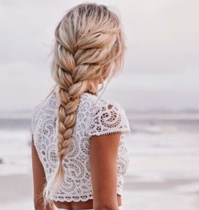 10 Cool Beach Hairstyles To Try This Summer – Womentriangle Regarding Most Up To Date Defined French Braid Hairstyles (View 8 of 25)