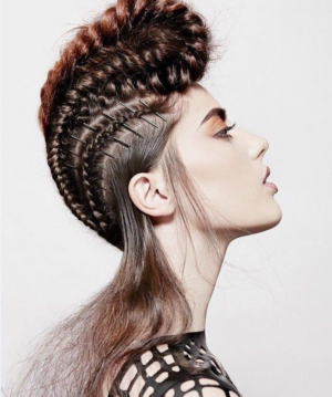 15 Foremost Braided Mohawk Hairstyles – Mohawk With Braids With Regard To Best And Newest Pouf Braided Mohawk Hairstyles (View 9 of 25)