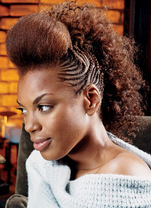 15 Pictures Of Black Hair Braid Styles To Explore With Regard To Best And Newest Chic Black Braided High Ponytail Hairstyles (View 8 of 25)