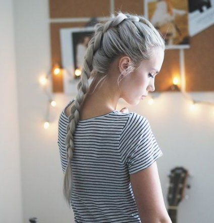 16+ Ideas Hair Updos Tight French Braids   French Braids Throughout 2020 Five Dutch Braid Ponytail Hairstyles (View 15 of 25)