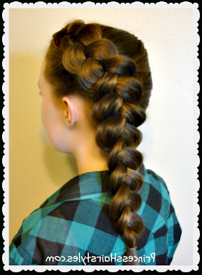 2 Easy Hairstyles For School – Side Dutch Braid And Messy Intended For Most Up To Date Five Dutch Braid Ponytail Hairstyles (View 8 of 25)