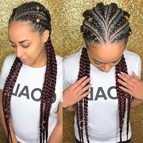 2019 Braided Hairstyles For Black Women – The Style News Pertaining To Most Popular Chic Black Braided High Ponytail Hairstyles (View 4 of 25)
