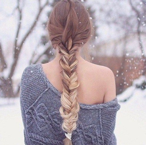 24 Impressive Half Braid Hairstyles For 2017 – Page 4 Of For Most Recently Loose Highlighted Half Do Hairstyles (View 11 of 25)
