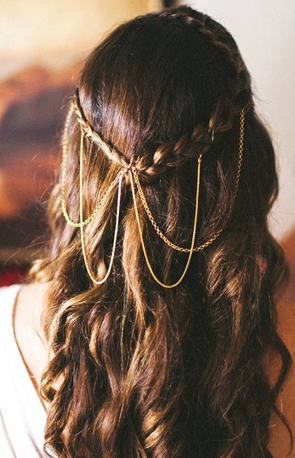 25 Best Braided Hairstyles On Pinterest   Wedding In Current Boho Braided Half Do Hairstyles (View 10 of 25)