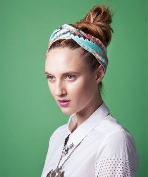 3 Fresh New Ways To Knot Your Hair – Top Knot Twist Tie With Newest Knotted Braided Updo Hairstyles (View 24 of 25)