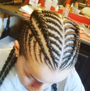 30 Beautiful Fishbone Braid Hairstyles For Black Women In Latest Chic Black Braided High Ponytail Hairstyles (View 22 of 25)